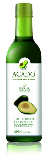 Acado Avocado Garlic Infused Cooking Oil